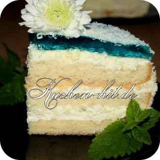 Rezept f r eine laguna torte kuchen - Dekoration fur torten ...