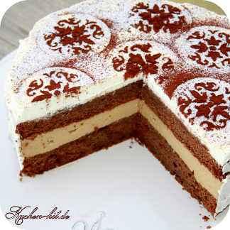 Cappuccino creme torte