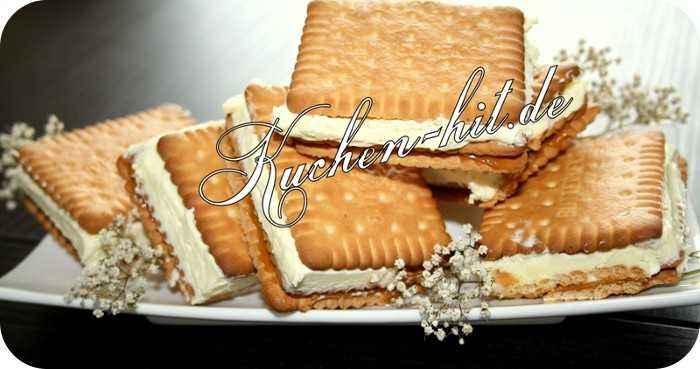 rezept f r karamellkekse mit milchcreme kekse ohne backen. Black Bedroom Furniture Sets. Home Design Ideas