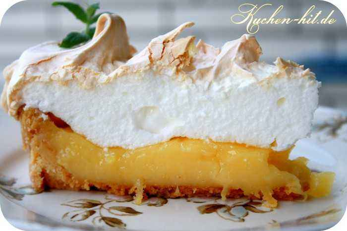 Lemon Meringue Pie Rezept Kuchen Hit De