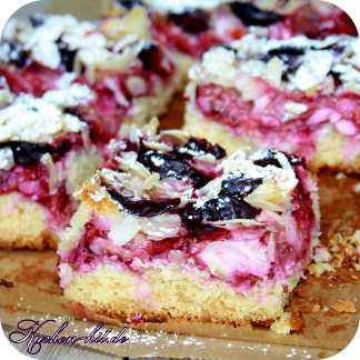 Rezept Zwetschgenkuchen Rührteig pflaumenkuchen rezept mit marzipan und mandeln kuchen hit de