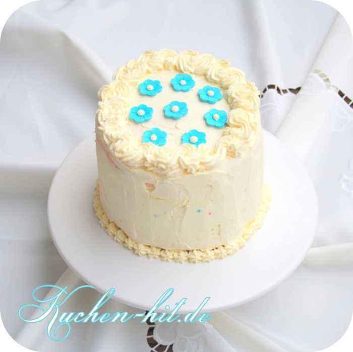 Kuchen hit regenbogentorte