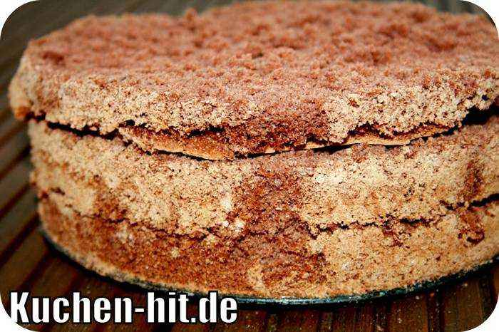 Dunkler Biskuitboden : Schoko Biskuitteig als dunkler Tortenboden  Kuchenhitde