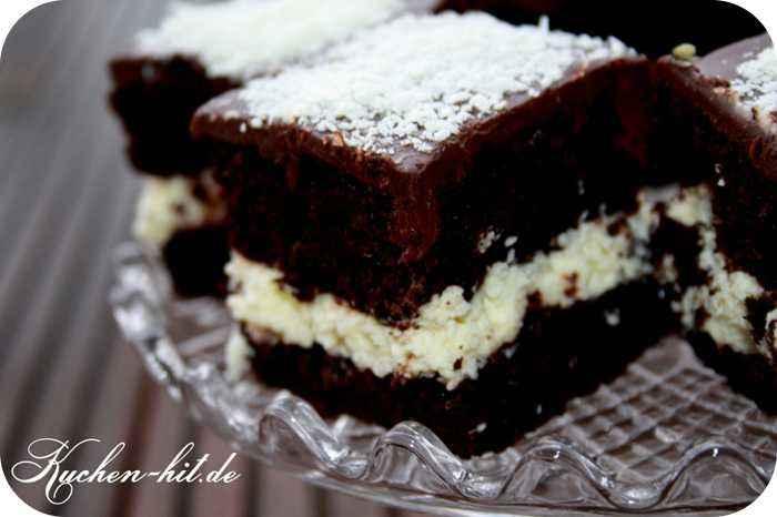 schokoladenkuchen mit kokoscreme rezept kuchen. Black Bedroom Furniture Sets. Home Design Ideas