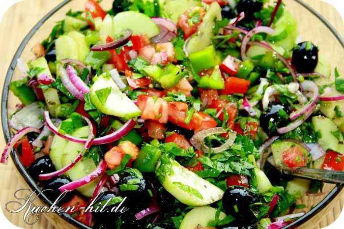 Griechischer salat ohne ol