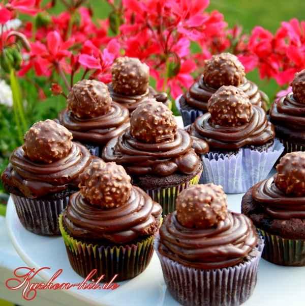 Rocher muffins