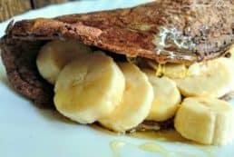 glutenfreie-pancakes-aus Haferflocken