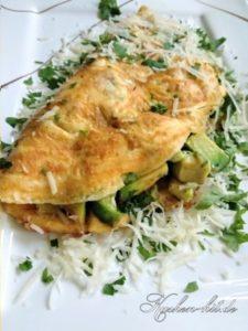omelett-avocado-parmesan